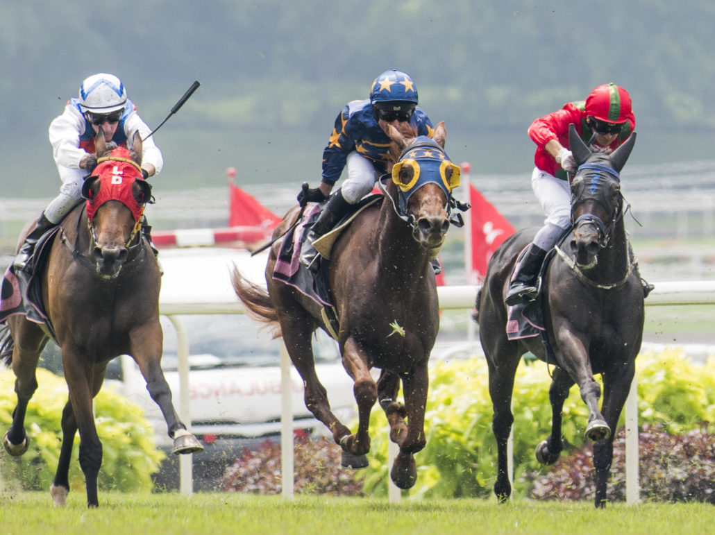 Emirates Singapore Derby Day, Singapore Turf Club July 15th 2018.
